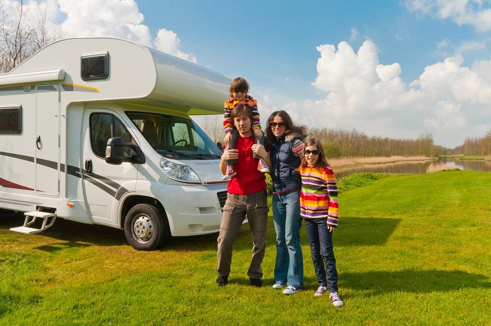 camping trip, family spring camping trip