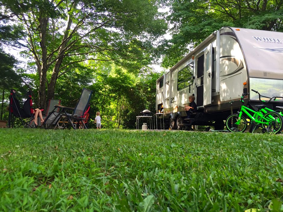 campground photography