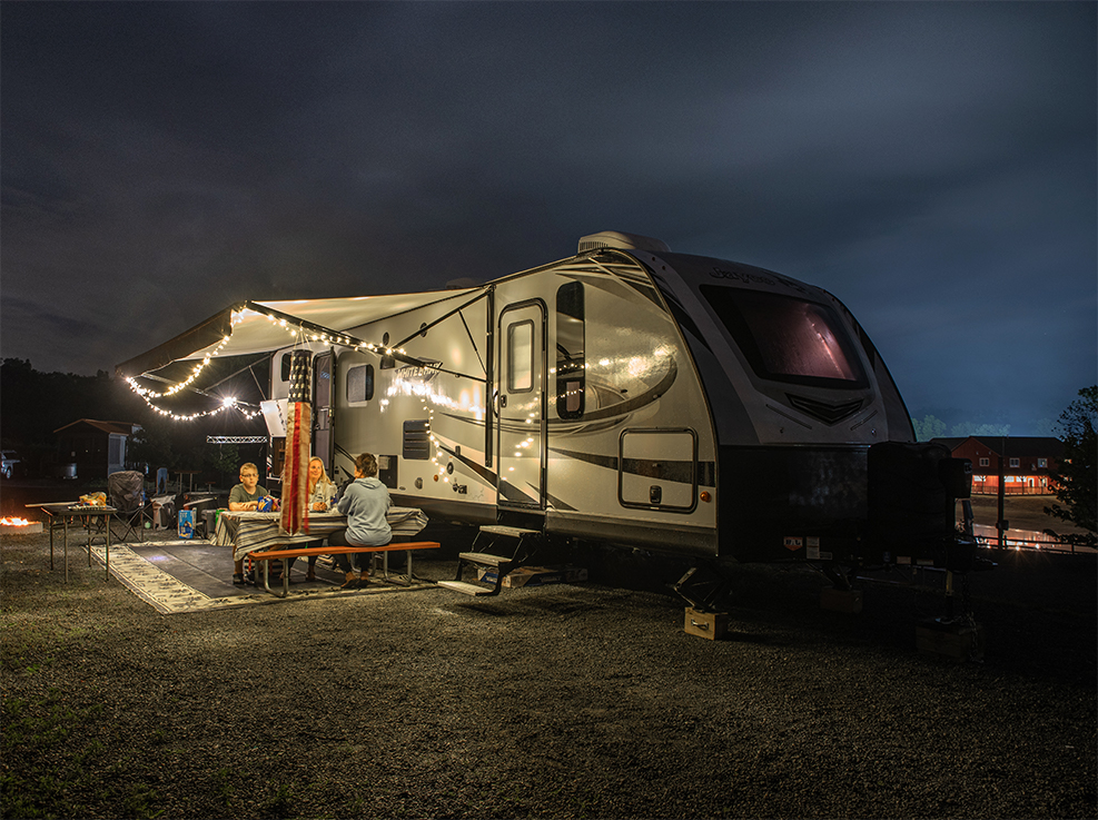 RV and Tents